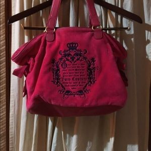 Pink Juicy Couture tote
